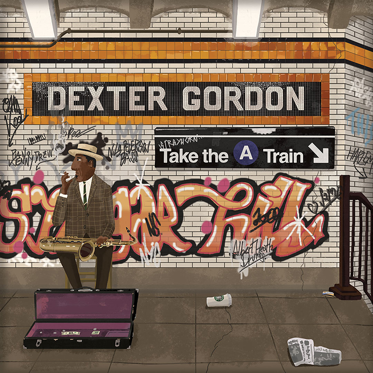 Max Dalton - Dexter Gordon Take the A Train
