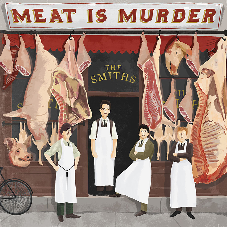 Max Dalton - The Smiths Meat is Murder