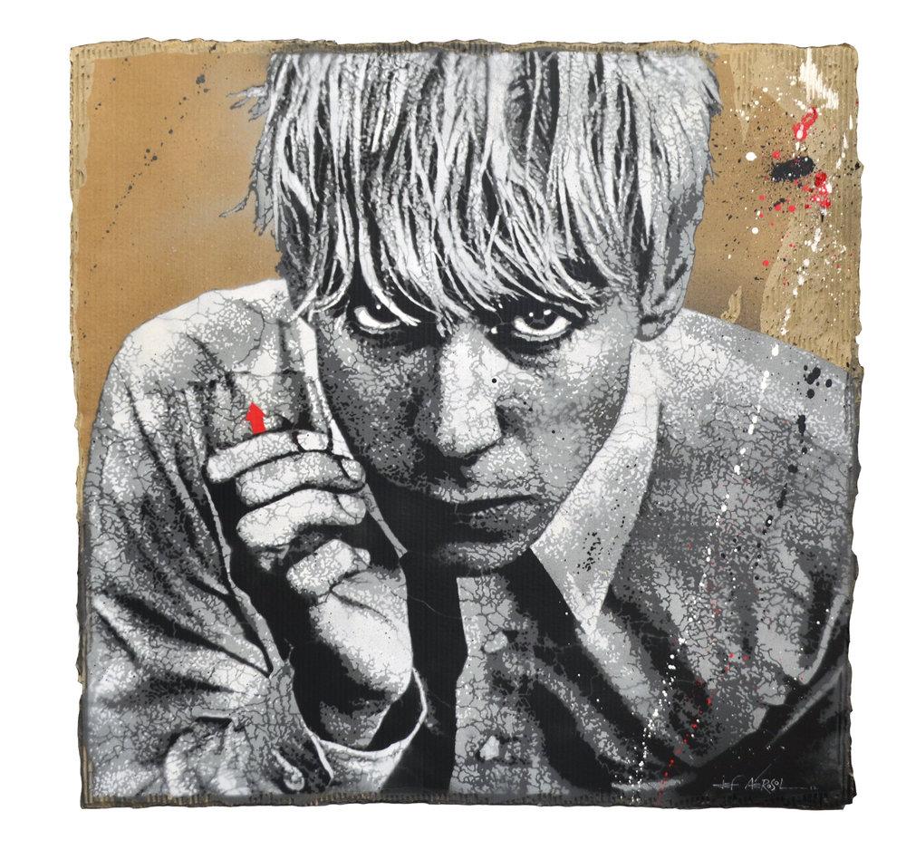 Lost for Life (Iggy Pop)  Carton 110x110cm