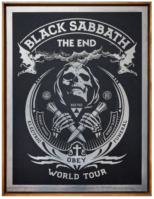Black Sabbath the End (edition 3/3), 2016