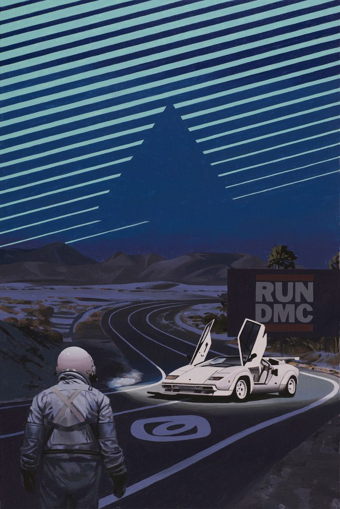 "Scott Listfield ""It's Like That"" (2018) Oil on canvas 20"" × 30"" 51    × 76    cm"