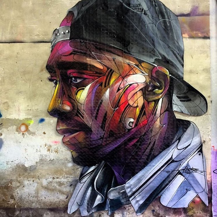 Artwork by Hopare