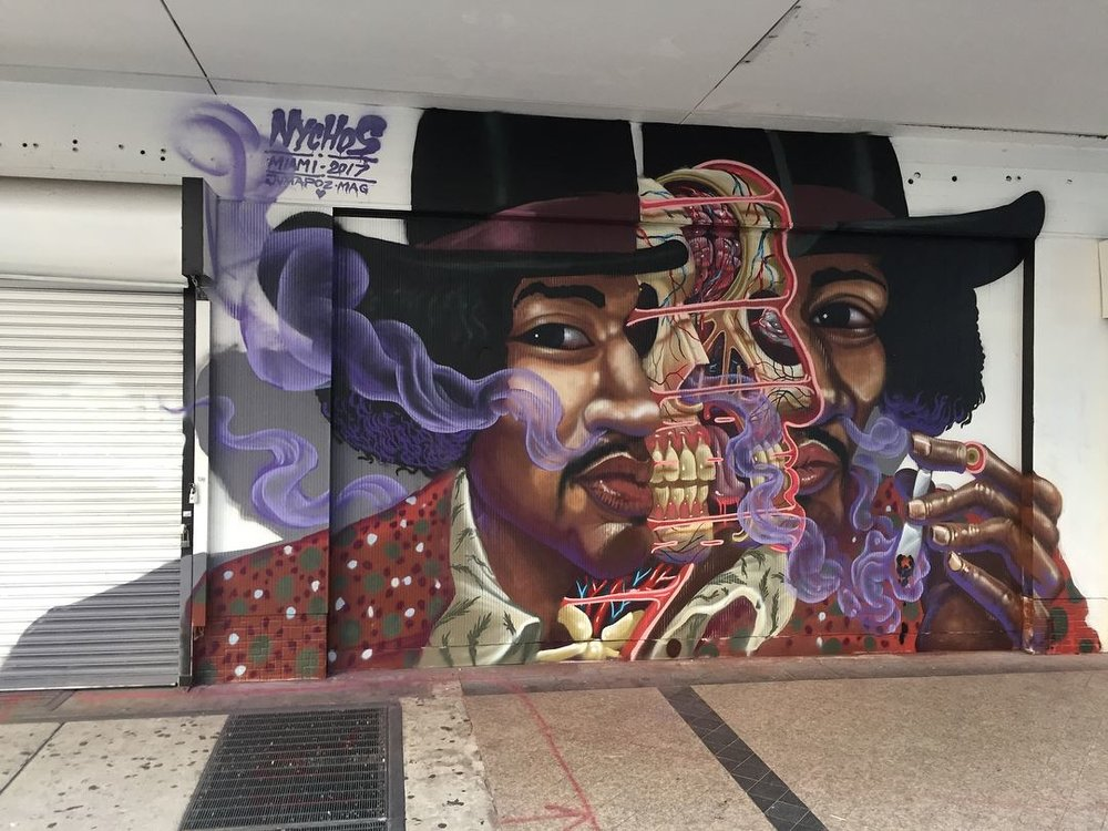 Artwork by Nychos