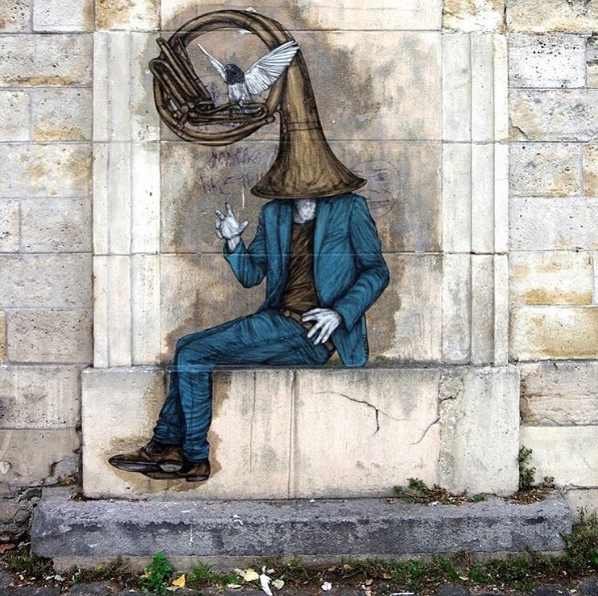 Artwork by Levalet