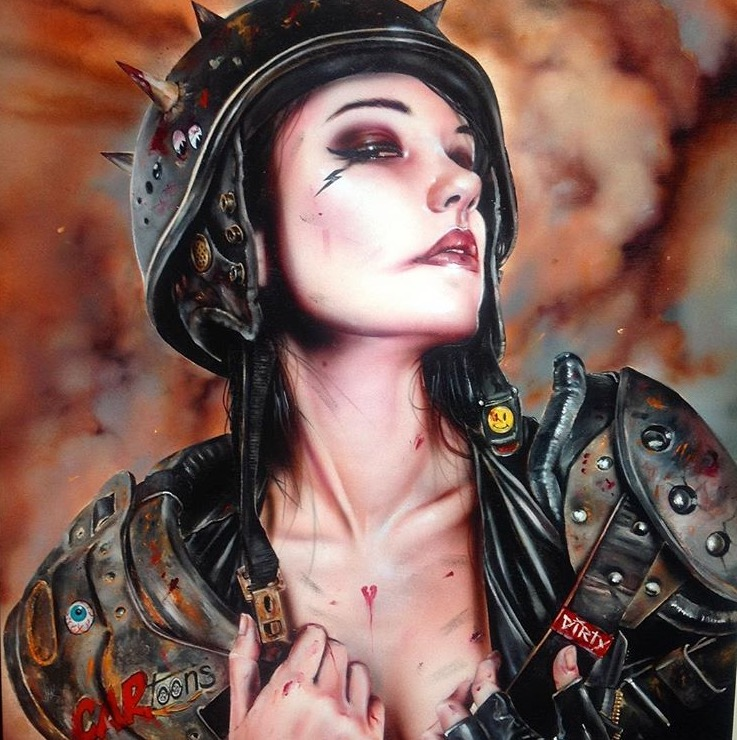 Copy of Artwork by Brian M. Viveros