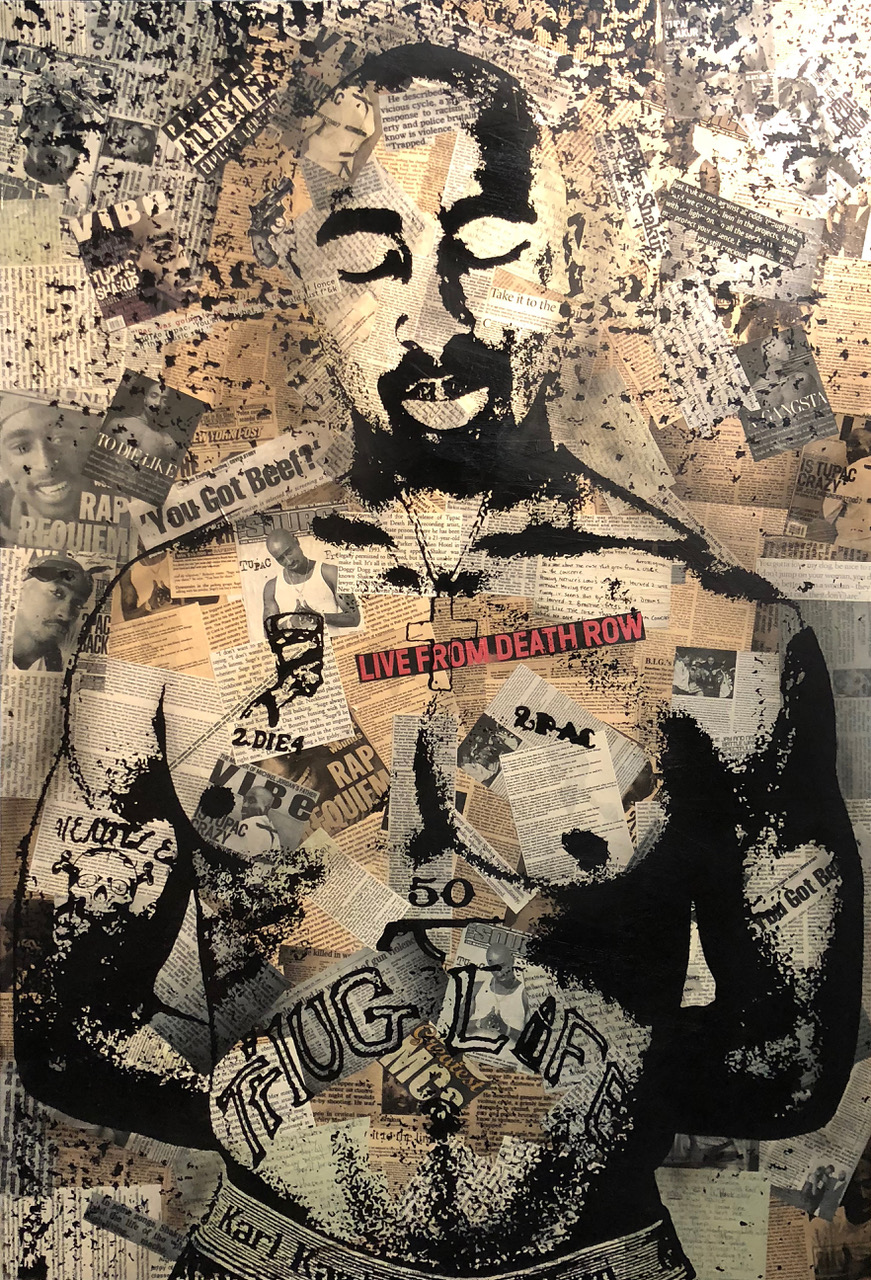 """Tupac"" by  Greg Auerbach"