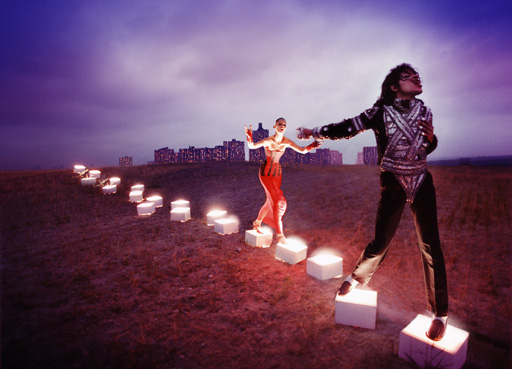 An illuminating Path , 1998 by David LaChapelle. Courtesy of the artist. © David LaChapelle