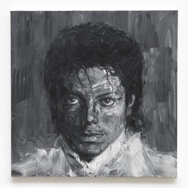 In Memory of Michael Jackson 1958-2009  - 2017   Yan Pei-Ming
