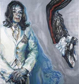 Michael Jackson  - 2004   Maggi Hambling