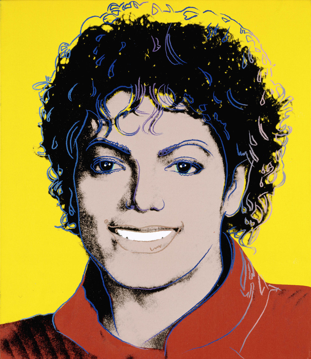 Michael Jackson - 1984  Andy Warhol