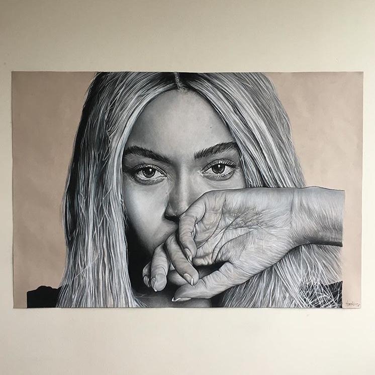 Beyoncé(charcoal)