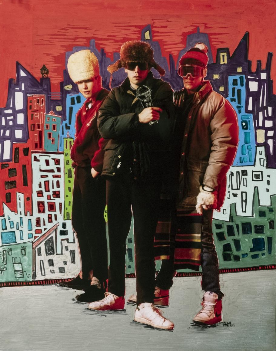 ALICE MIZRACHI , Beastie Boys, 1985/2014