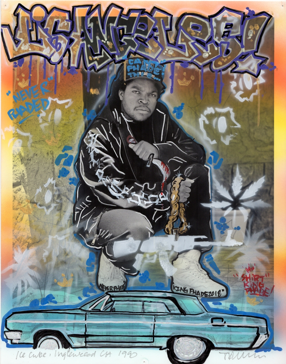 SHIRT KING PHADE , Ice Cube, 1990/2018