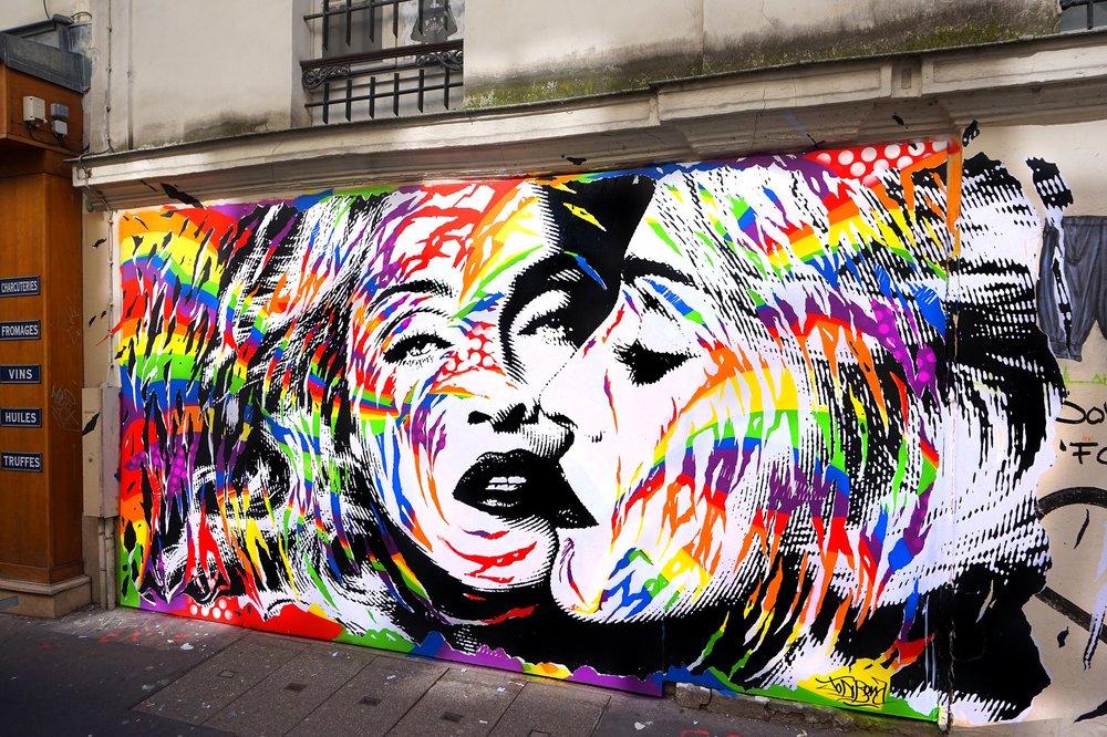 Mural by Jo Di Bona