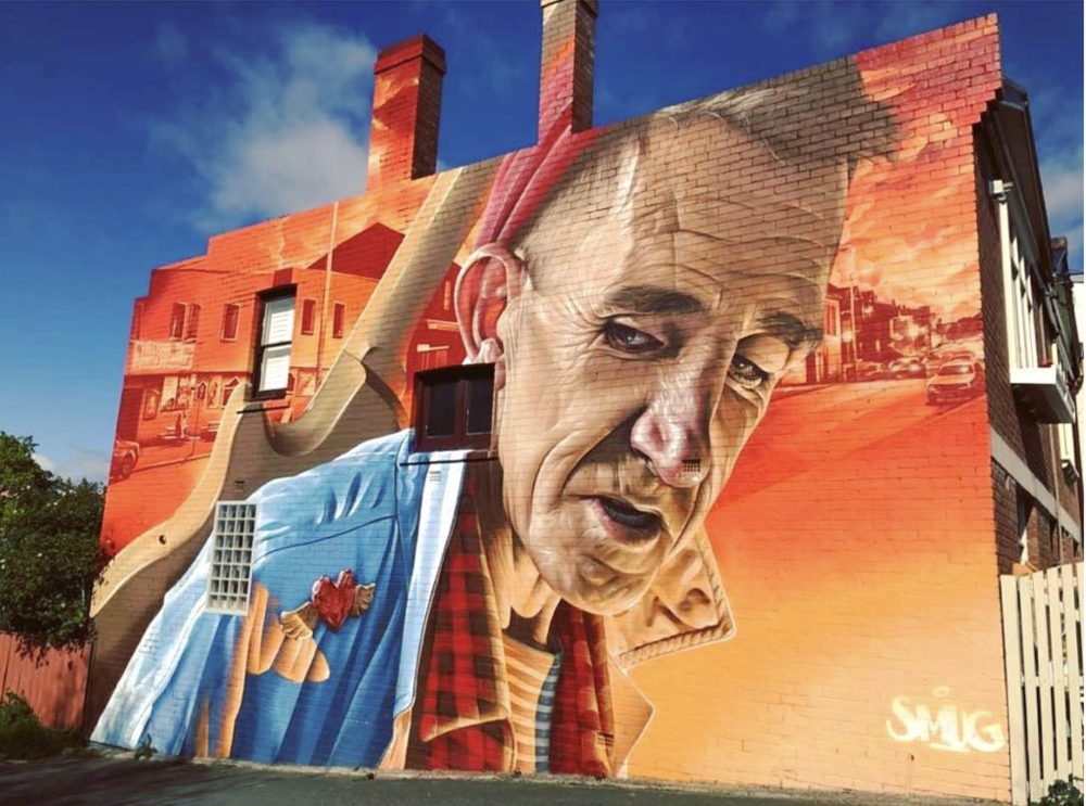 Mural by Smugone