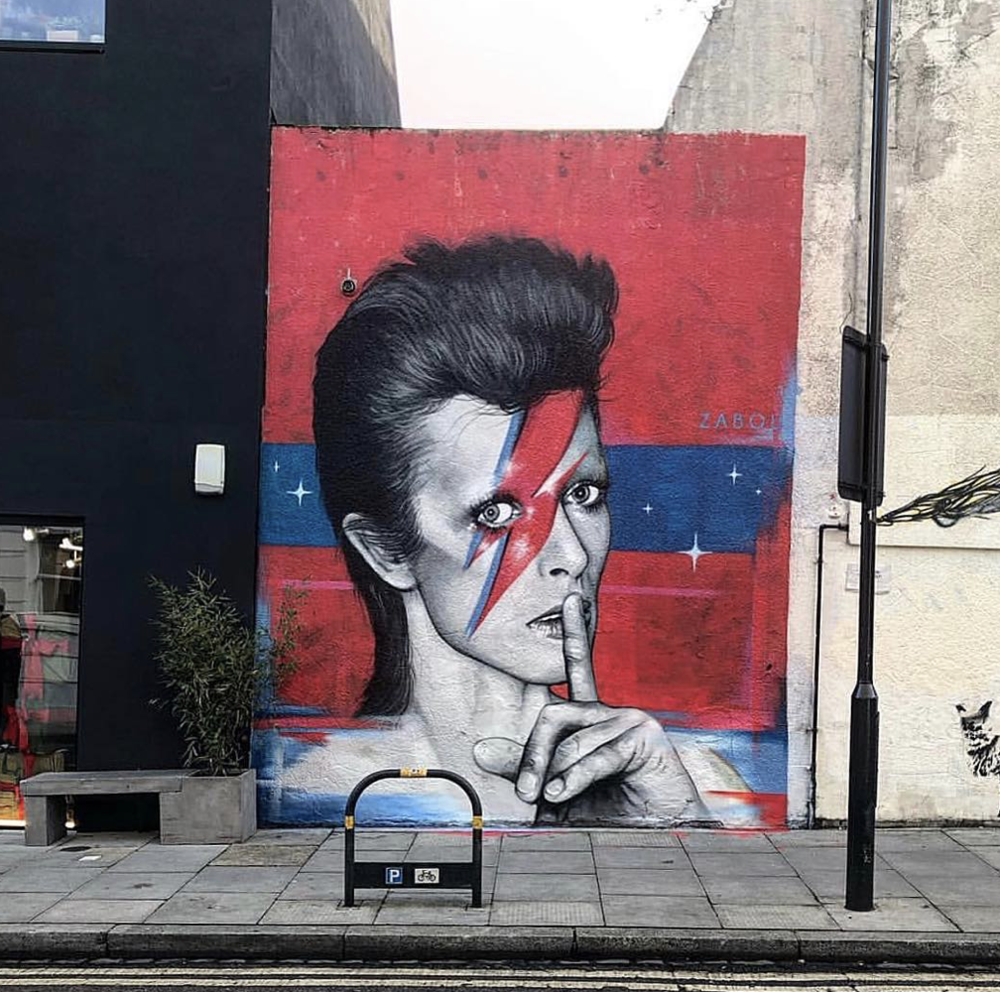 Mural by Zabou
