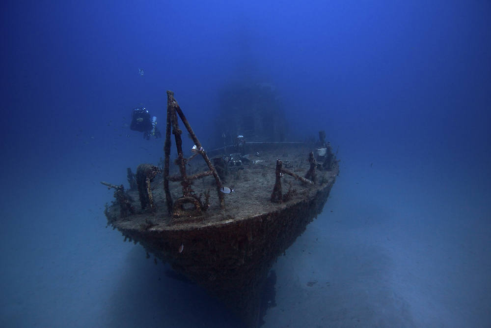 Diving The Wreck Of The P-29