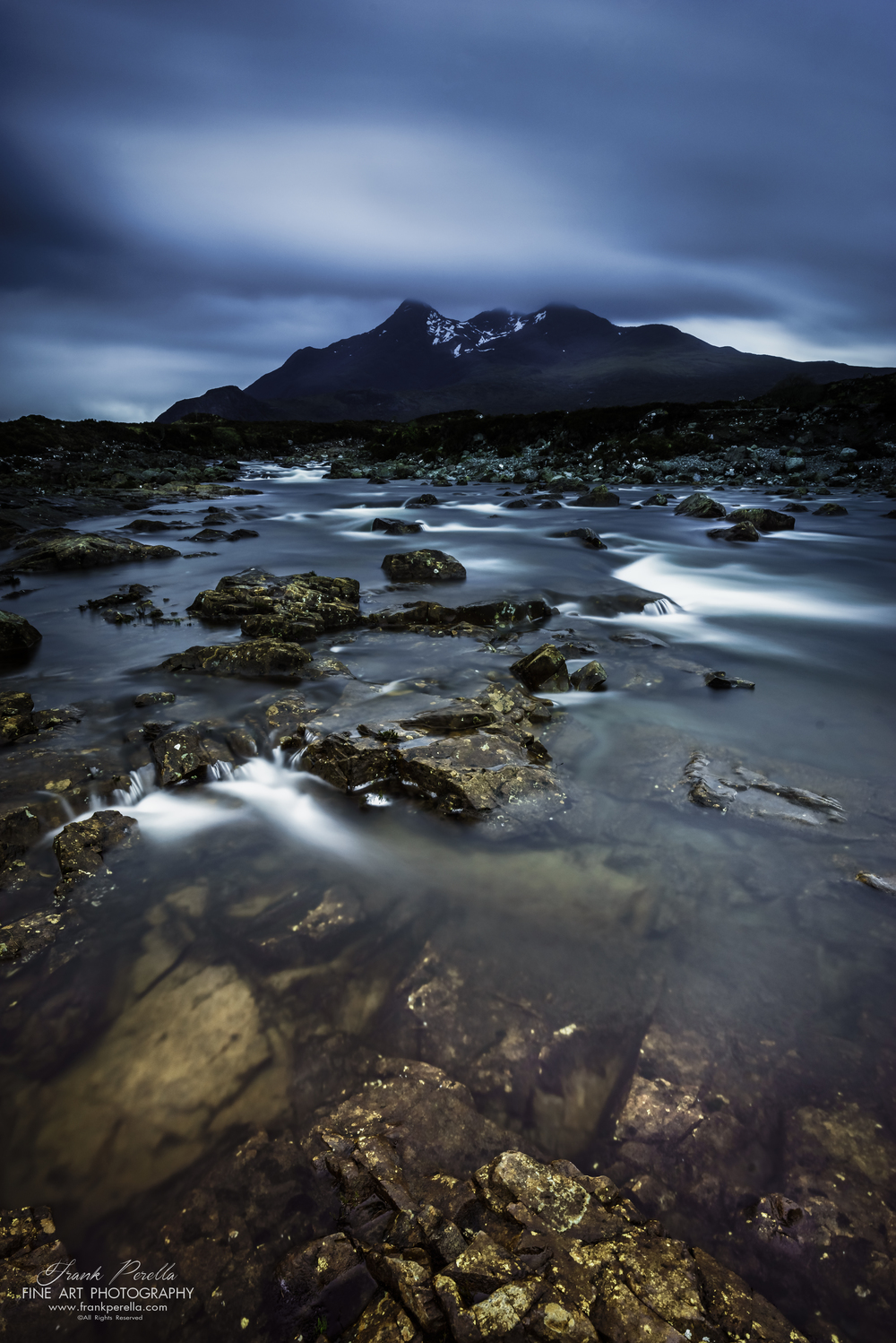 glen sligachan and cuillin mountains