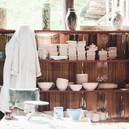 VISITING AND PAST POTTERS -
