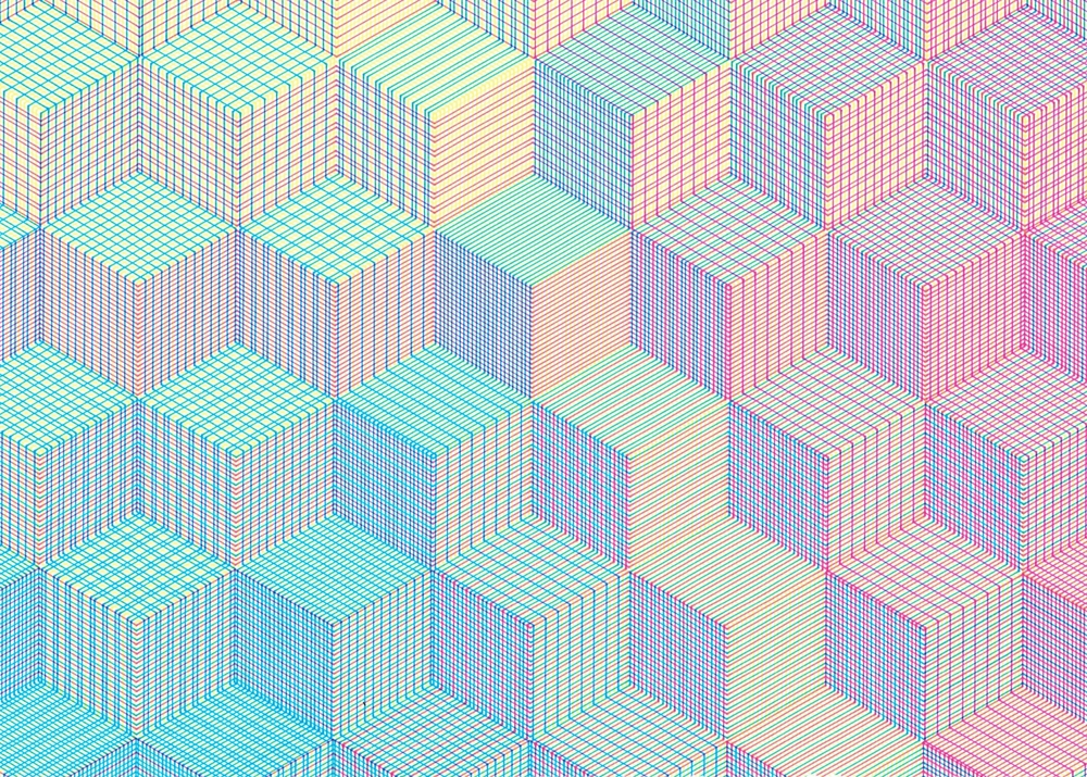 CMY Cube: detail