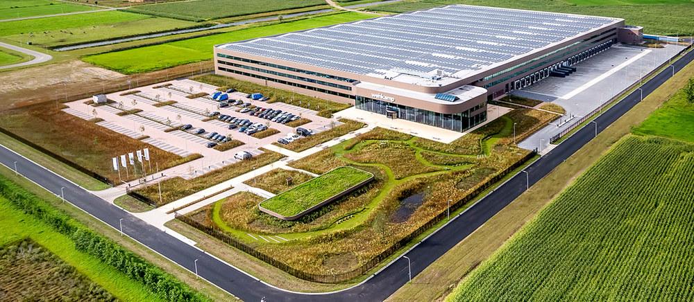 Wehkamp's groene logistieke service centrum (meer info)