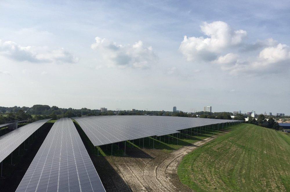 #2: Zonnepark Woldjerspoor (image: Provincie Groningen)