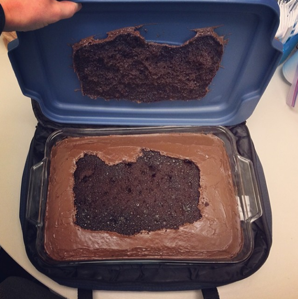 @whisperoftheweb  I think I missed my calling as a baker #cakefail #cakebomb #icanfixthis #ohwait #noicant #sweetspots