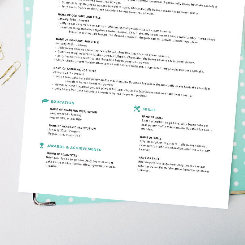 Superb Resume4 On Well Designed Resumes