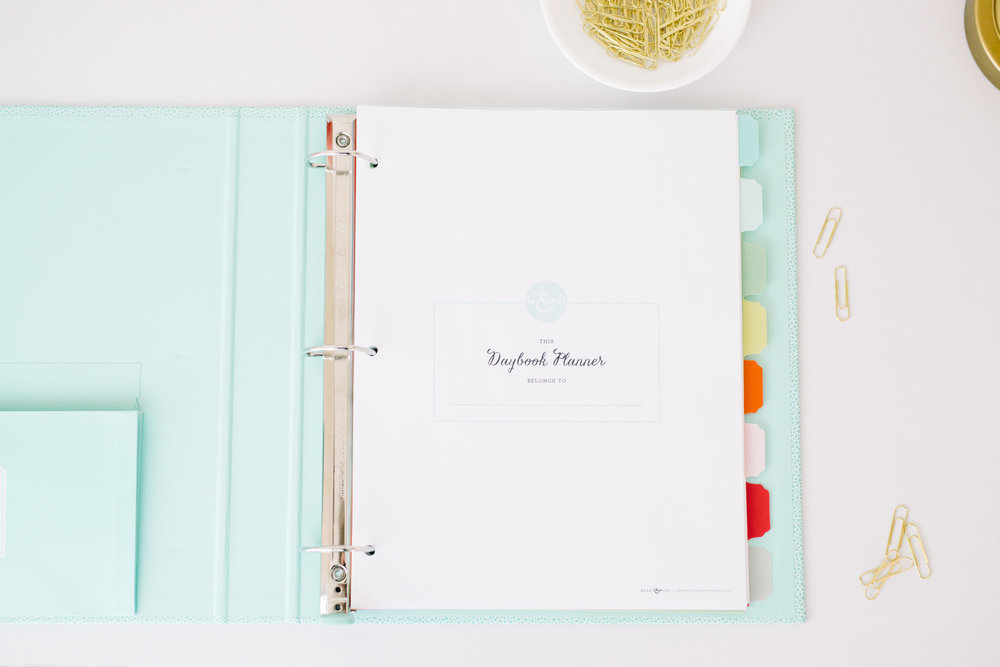 I'm a big fan of my pretty blue Martha Stewart binder and colorful tabs. You too? You can find them at Staples in the Martha Stewart section along with more pretty office supplies.