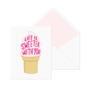 Printable greeting cards & envelope liners  |  Elle & Co.