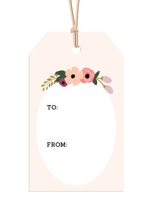 Printable gift tags  |  Elle & Co.