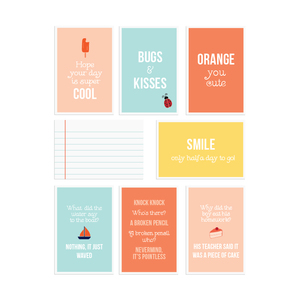 Printable lunch box notes  |  Elle & Co.