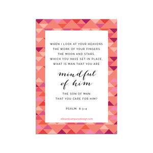 Printable Scripture cards  |  Elle & Co.