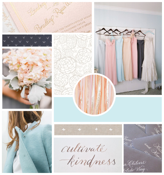 Creative At Heart inspiration board // Elle & Company