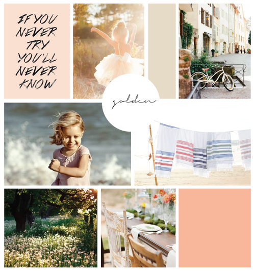 Grace to be Free inspiration board by Elle & Company