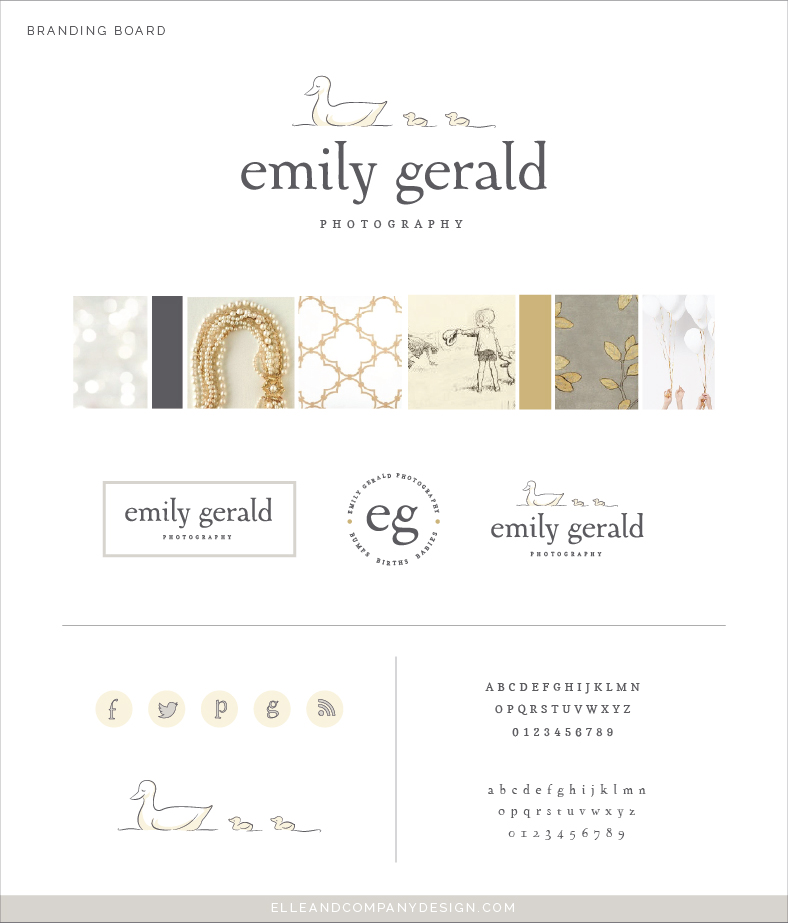 New Brand and Website Launch for Emily Gerlad Photography | Elle & Company