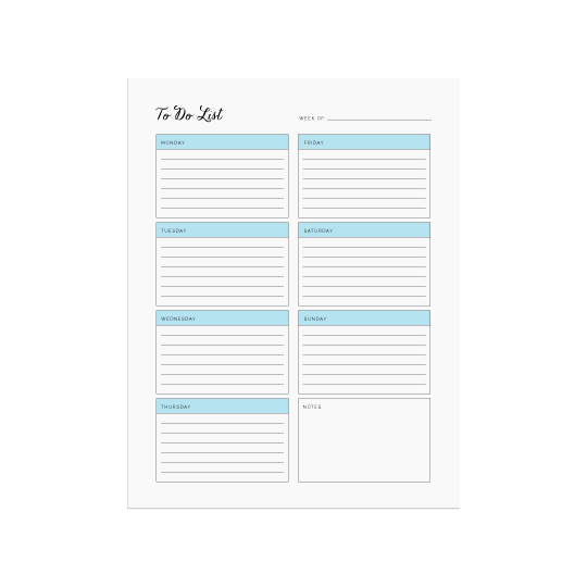 Ellebook To Do List printable - Elle & Co.