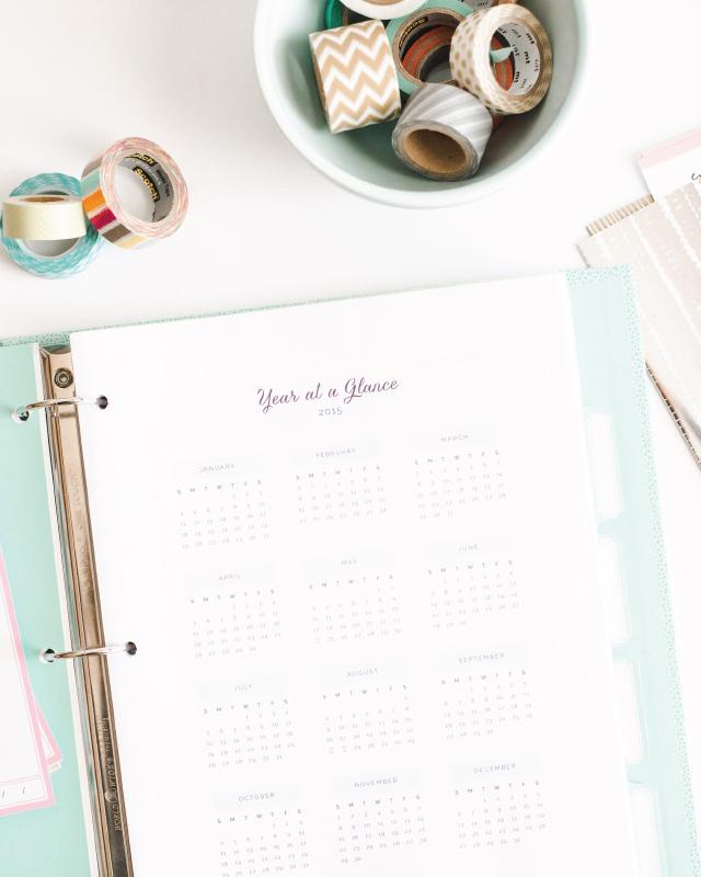 2015 Ellebook Planner from Elle & Co.