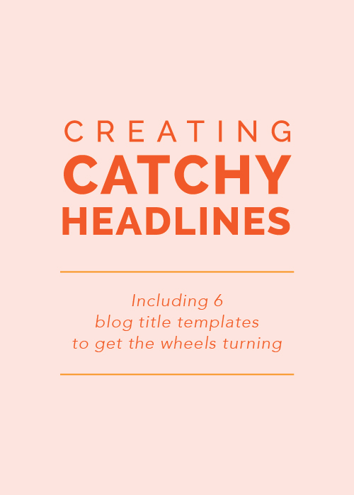 Catchy essay titles