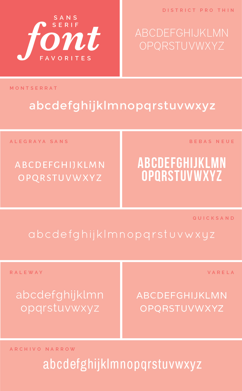 My Top 23 Favorite Fonts | Elle & Company