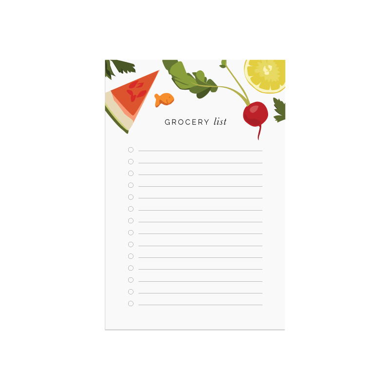 Grocery List printable - Elle & Company Library