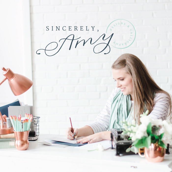 New Brand + Website Design for Sincerely Amy Designs | Elle & Company