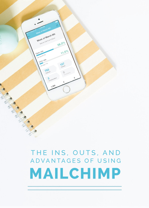The Ins, Outs and Advantages of Using MailChimp | Elle & Company