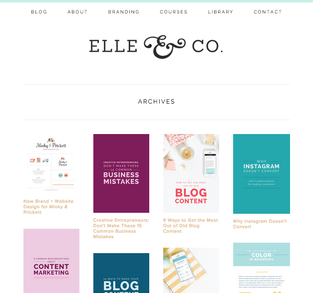 How to set up blog archives in squarespace for Best squarespace template for blog