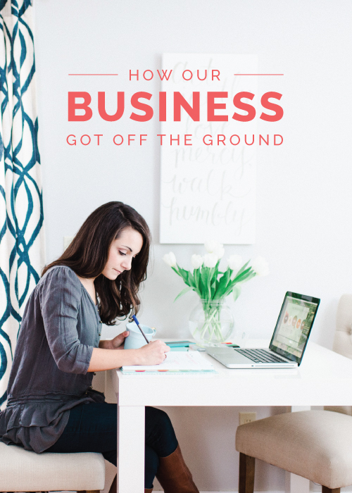 How Our Business Got Off the Ground - Elle & Company
