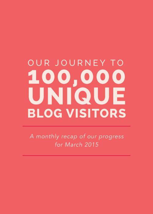 Our Journey to 100,000 Unique Blog Visitors | Elle & Company