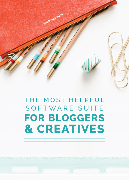 The Most Helpful Software Suite for Bloggers and Creatives | Elle & Company