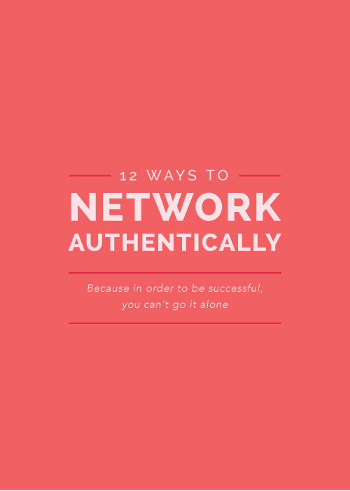 12 Ways to Network Authentically - Elle & Company
