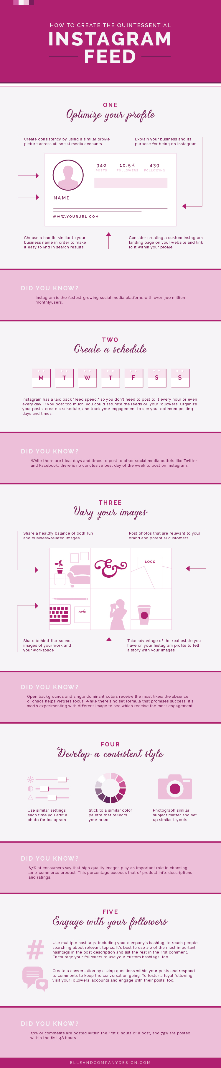 How to Create the Quintessential Instagram Feed | Elle & Company
