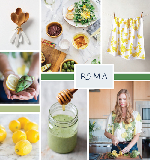 Inspiration board for Real Food Whole Life - Elle & Company